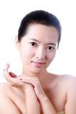 Aziatische jonge vrouw Royalty-vrije Stock Fotografie