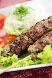 Aziatische kebab Royalty-vrije Stock Afbeeldingen