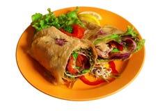 Aziatische kebab Royalty-vrije Stock Afbeelding