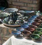 Aziatische Keramiek Royalty-vrije Stock Fotografie
