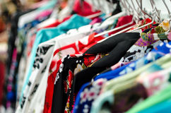 Aziatische kimonoselectie Stock Foto's