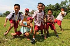 Aziatische kinderen Stock Afbeelding