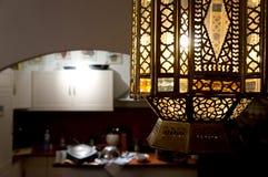 Aziatische lamp Stock Afbeeldingen