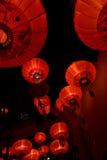 Aziatische lampen Stock Foto