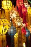 Aziatische lantaarns Stock Afbeelding