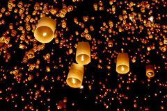 Aziatische lantaarns Royalty-vrije Stock Afbeelding