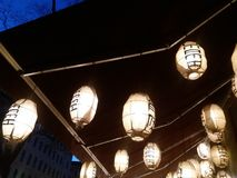 Aziatische lantaarns Stock Afbeeldingen