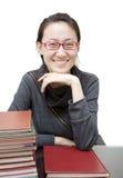 Aziatische leraar Stock Foto