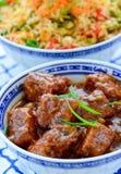 Aziatische maaltijd royalty-vrije stock afbeelding