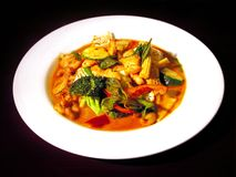 Aziatische maaltijdreeks Stock Foto's