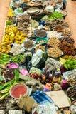 Aziatische Markt - Siti Khadijah Market, Kelantan Stock Afbeeldingen