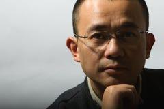 Aziatische medio-volwassen mens Royalty-vrije Stock Fotografie