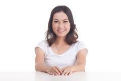 Aziatische meisjesportretten Royalty-vrije Stock Fotografie