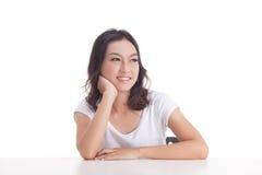 Aziatische meisjesportretten Stock Afbeelding