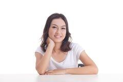 Aziatische meisjesportretten Royalty-vrije Stock Foto