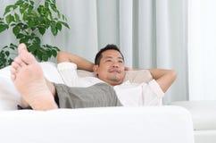 Aziatische mens Royalty-vrije Stock Afbeeldingen