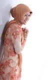 Aziatische moslim Stock Foto