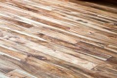 Aziatische okkernoot houten vloeren royalty-vrije stock afbeeldingen