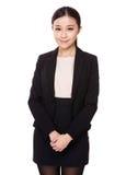 Aziatische Onderneemster royalty-vrije stock foto's