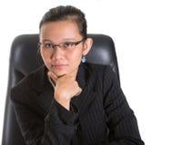 Aziatische Onderneemster VI Stock Foto's