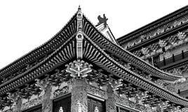 Aziatische pagodearchitectuur Stock Foto