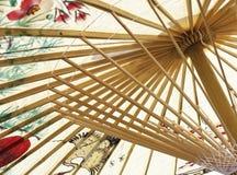 Aziatische parapluclose-up Royalty-vrije Stock Afbeeldingen