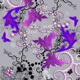 Aziatische patronen Stock Afbeeldingen