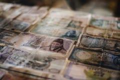 Aziatische rekeningen Stock Afbeeldingen