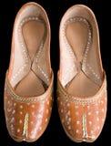 Aziatische schoenen die weg knippen. Stock Afbeeldingen