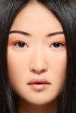 Aziatische schoonheid Stock Afbeelding