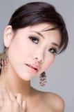 Aziatische Schoonheid royalty-vrije stock afbeelding