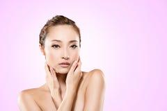 Aziatische schoonheid Stock Fotografie