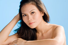 Aziatische schoonheid royalty-vrije stock fotografie