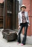 Aziatische schoonheid Stock Foto's