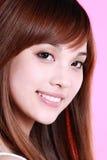 Aziatische schoonheid. royalty-vrije stock afbeeldingen