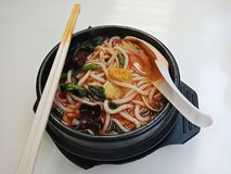 Aziatische soep royalty-vrije stock afbeeldingen
