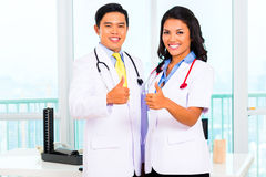 Aziatische spreekkamer of medische chirurgie Royalty-vrije Stock Afbeeldingen