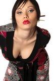 Aziatische stijlvrouw stock afbeeldingen
