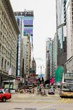 Aziatische straat 2 royalty-vrije stock fotografie