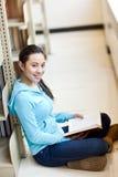 Aziatische student royalty-vrije stock foto