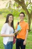Aziatische Studenten stock afbeeldingen