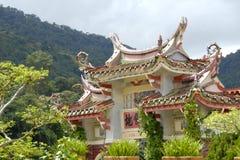 Aziatische Tempel Stock Foto