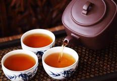 Aziatische thee stock afbeelding