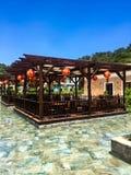 Aziatische tropische tuin royalty-vrije stock fotografie