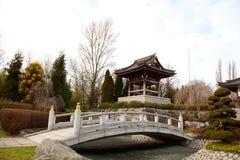 Aziatische Tuin Stock Afbeelding