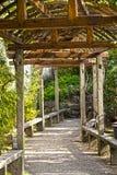 Aziatische tuin royalty-vrije stock afbeeldingen