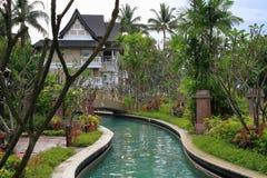 Aziatische tuin Royalty-vrije Stock Fotografie