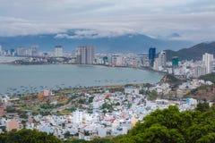 Aziatische Vakantietoevlucht Nha Trang Vietnam Stock Fotografie