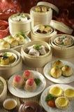 Aziatische voedsel schemerige som Stock Foto