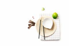 Aziatische voedselingrediënten Stock Foto's
